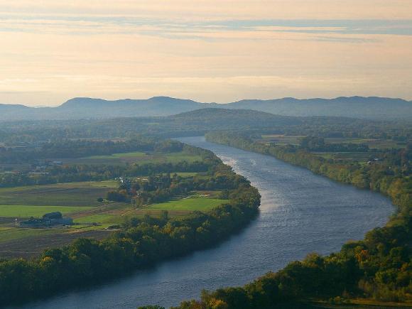 The Connecticut River - Public domain