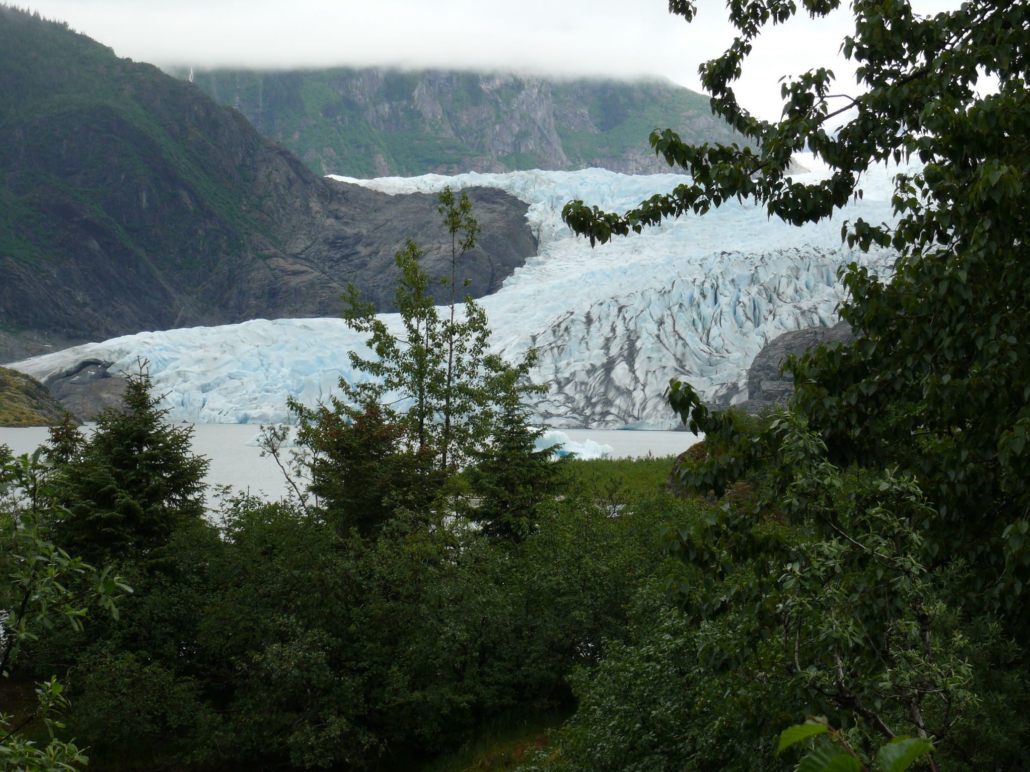 Mendenhall Glacier in Tongass National Forest - Credit: William Welch, USDA