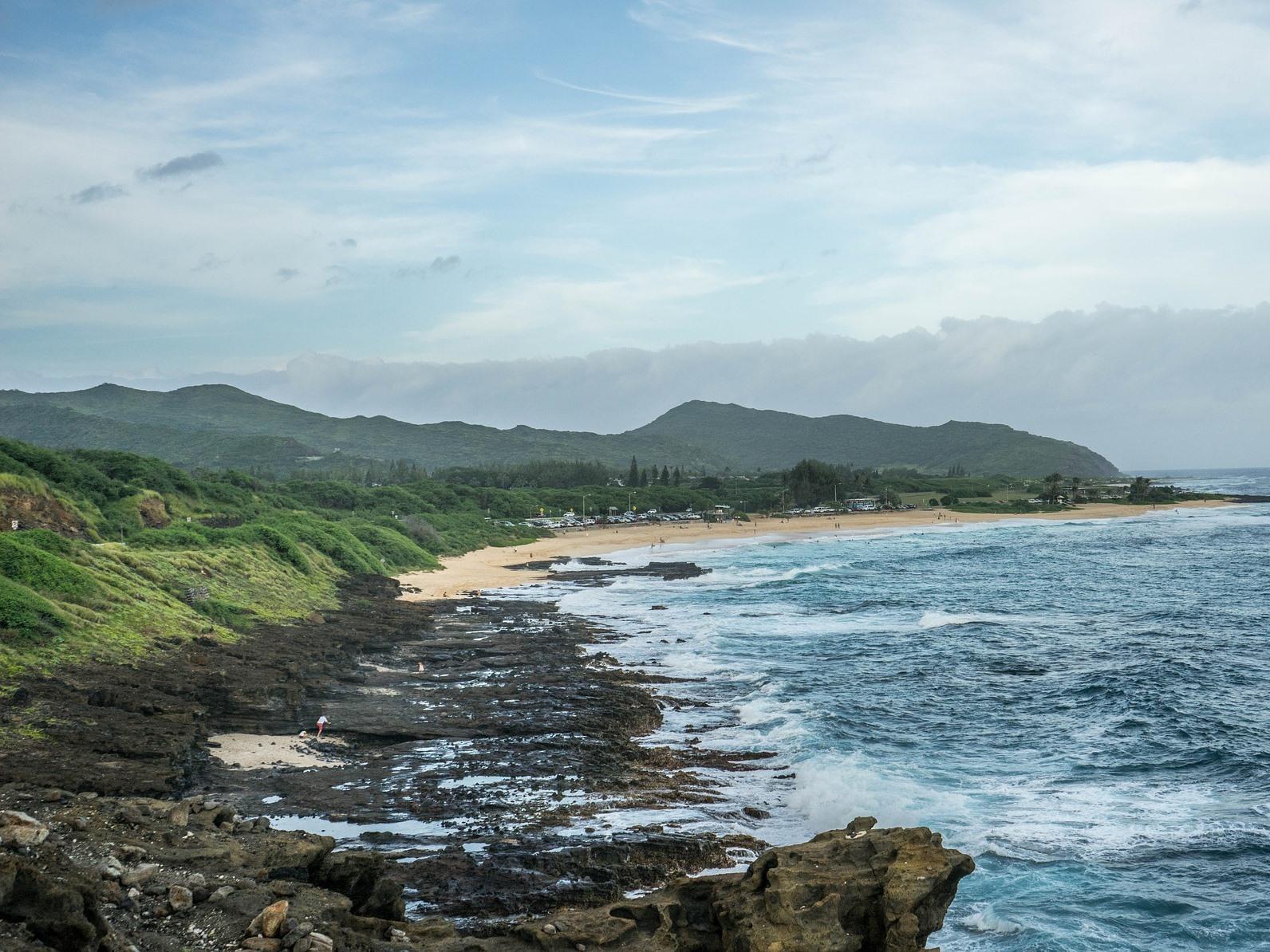 View of Oahu North Shore - Public Domain
