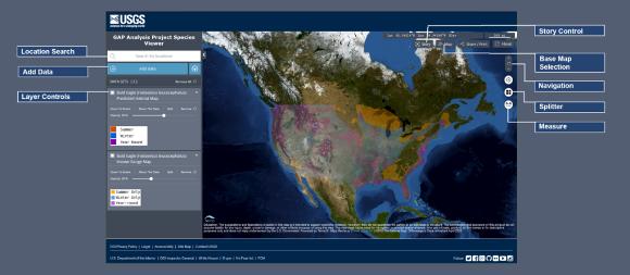 Gap Analysis Project Species Viewer