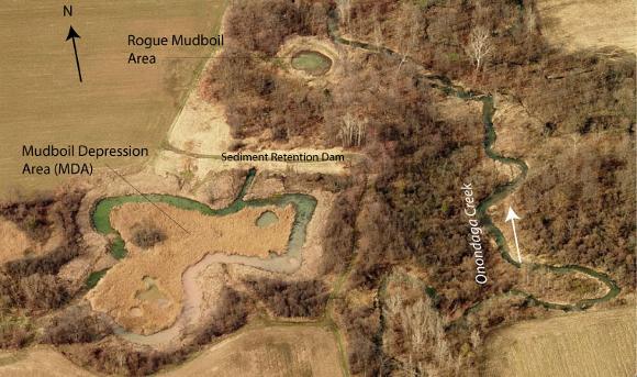 Tully Mudboil Study Area