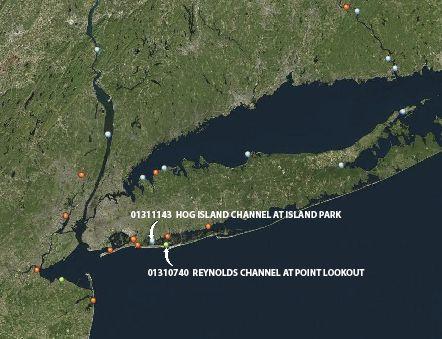 Southeastern New York Coastal Monitoring Sites