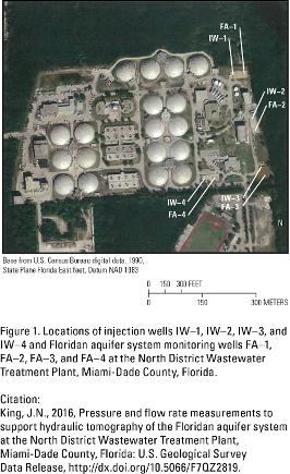 Figure 1. Location of wells
