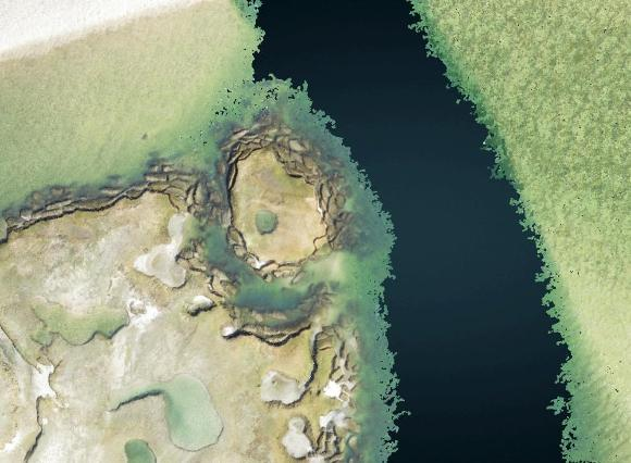 Browse graphic of point cloud data.
