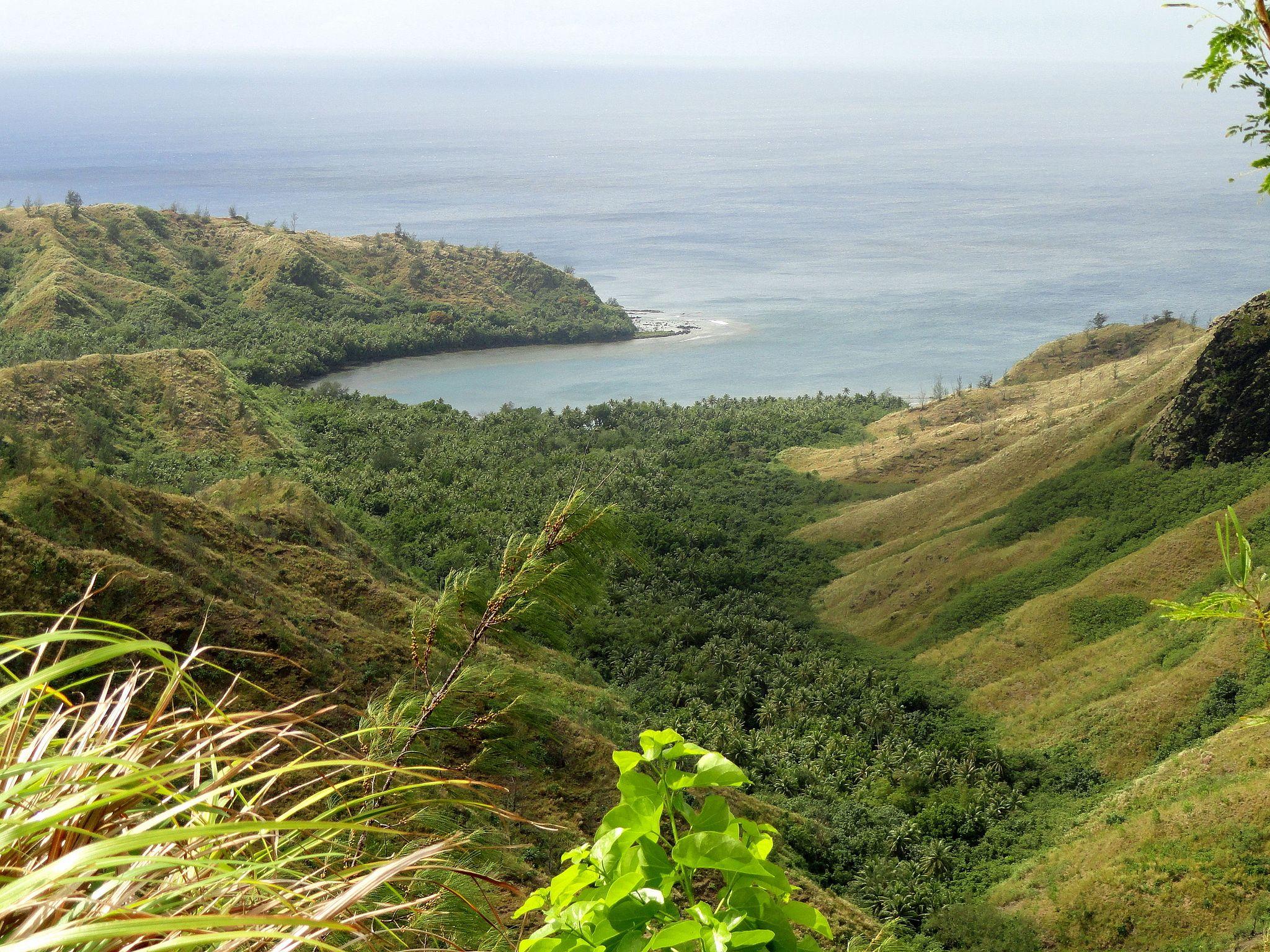 Cetti Bay, Guam - Public Domain