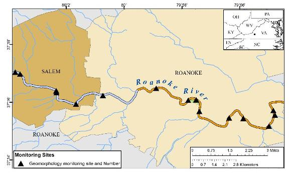 Roanoke River Geomorphology Study Thumbnail