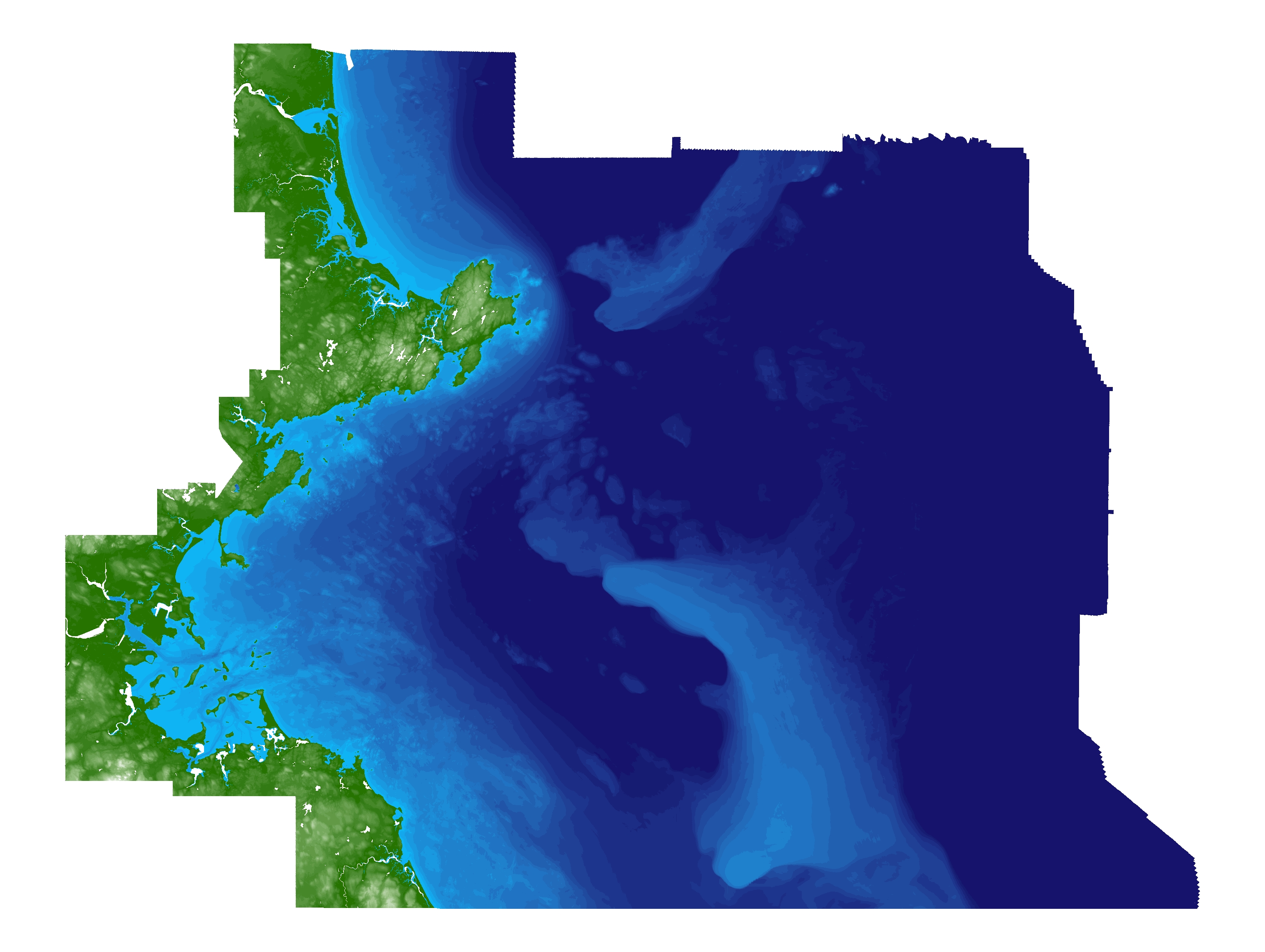Preview image of ver. 2.0 of the terrain model of Massachusetts Bay, Massachusetts. File is located in the compressed zip file.