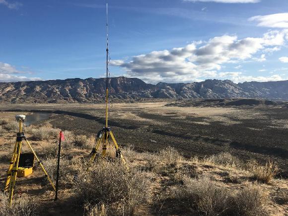 GNSS base station, Credit: Michael Kohn