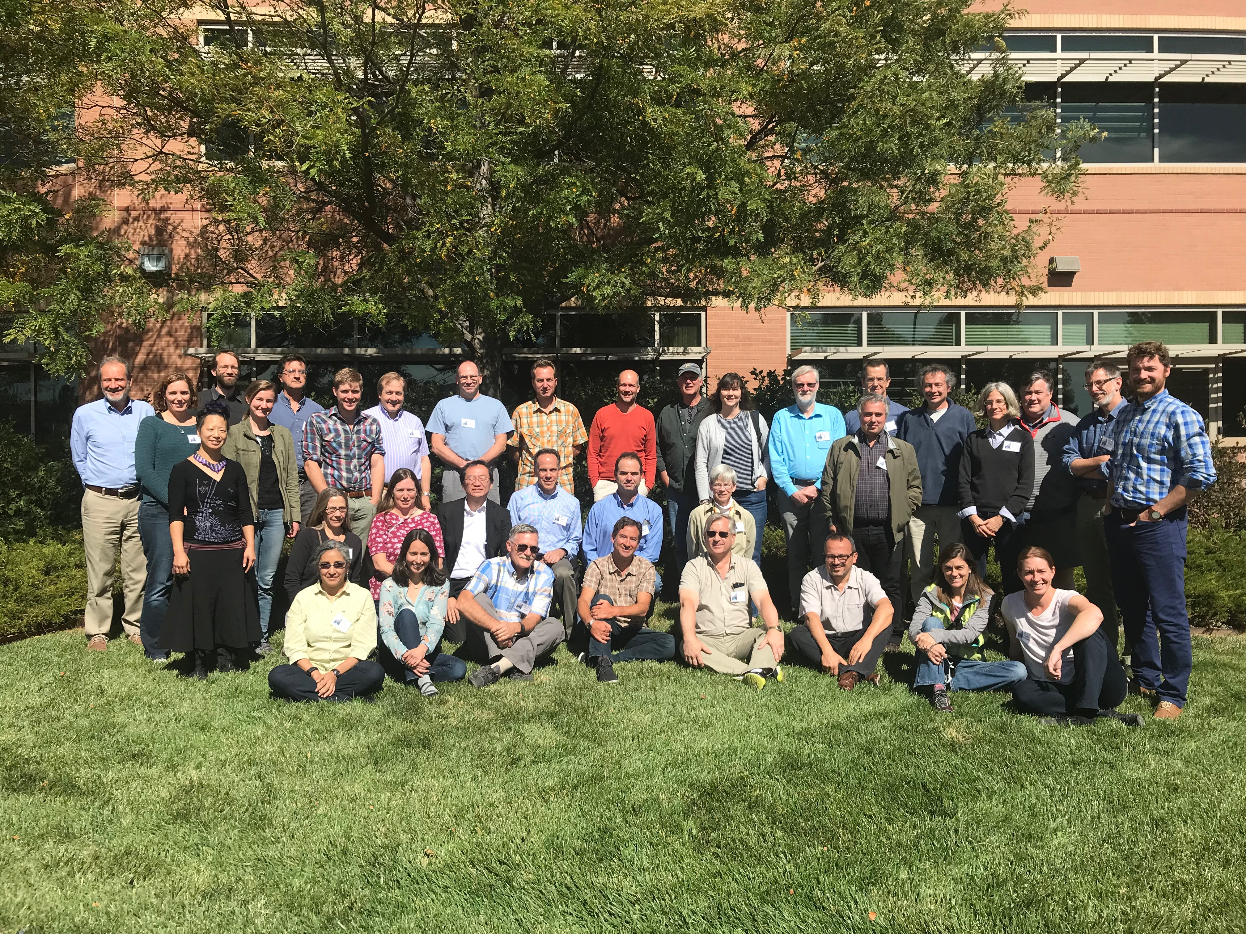Title: Working Group members at Sept 2018 meeting