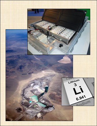 Lithium-ion Battery; Clayton Valley, NV