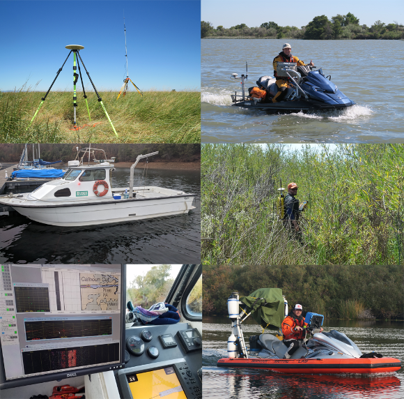 Photographs of field equipment